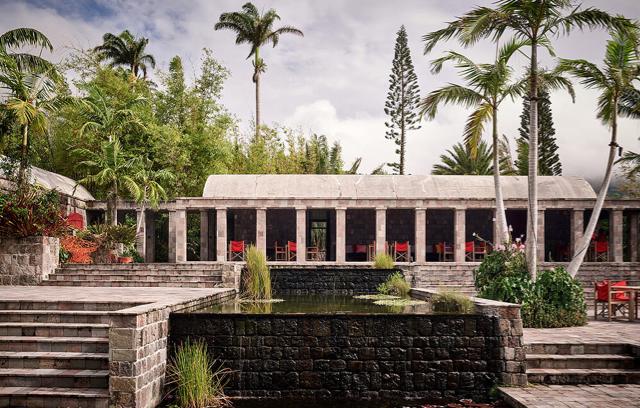 Golden Rock Inn Restaurant. Where to eat on Nevis