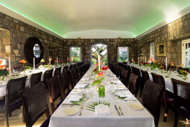 Restaurant 750. Where to eat on Nevis