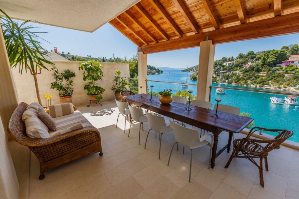 Villa Big Lagoon, Brac Island. Spring Getaway to Croatia