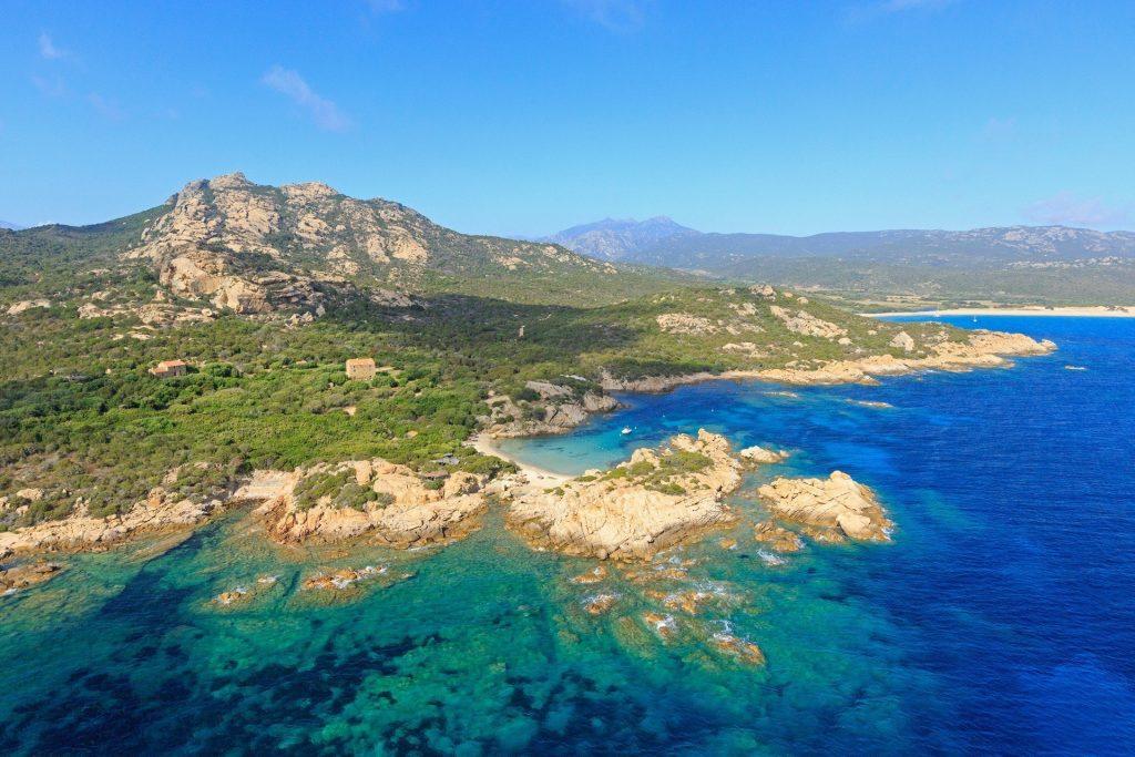 Corsica view. Spring in Corsica