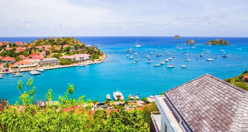 Gustavia View. Spring in St Barts