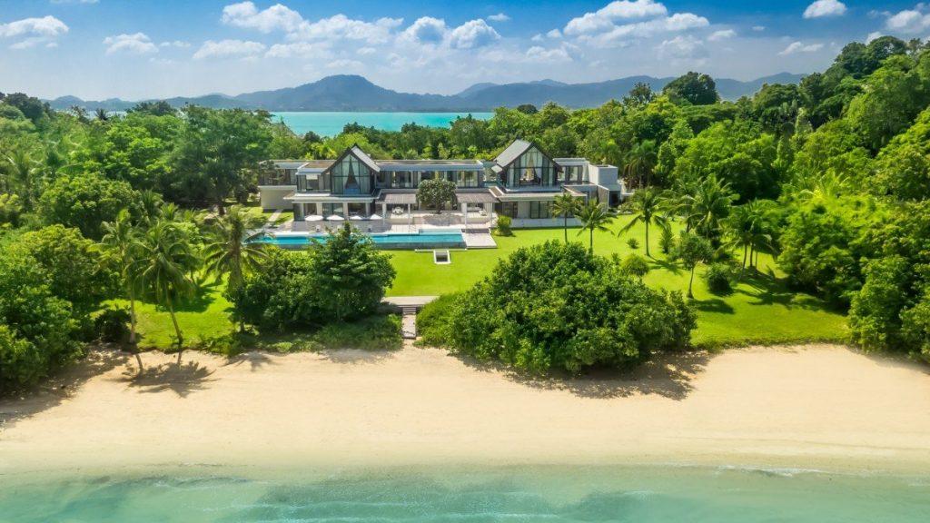 Beachfront villa Verai, Phuket. Best beaches in the world