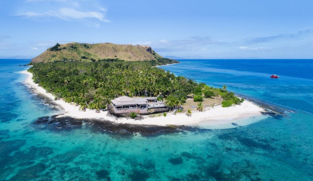 Fiji Islands View. Destinations to visit in July