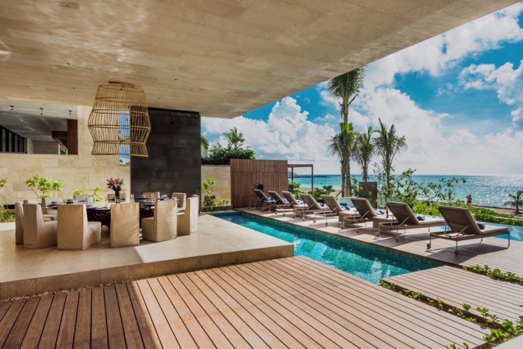 Villa Kin Ich, Playa del Carmen, Riviera Maya. Destinations to visit in July
