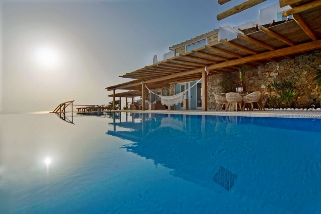Villa Mega, Mykonos. Destinations to visit in July